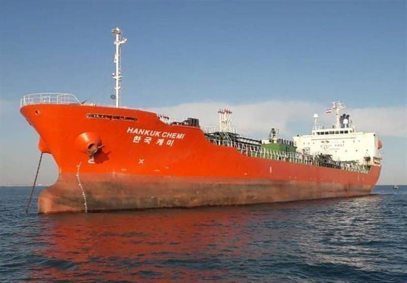 Iran warns against interference over seized SKorea ship