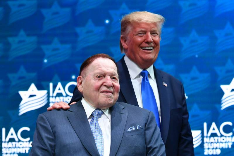 Sheldon Adelson, casino magnate who backed Trump and Israel, dies at 87