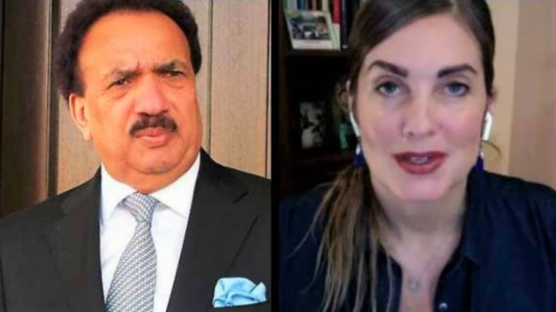 US blogger Cynthia D Ritchie, Rehman Malik move IHC to withdraw cases