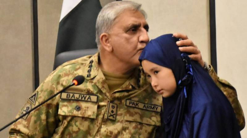 COAS meets families of victims of Mach incident during Quetta visit