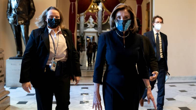 Master of House, Pelosi again takes lead in punishing Trump