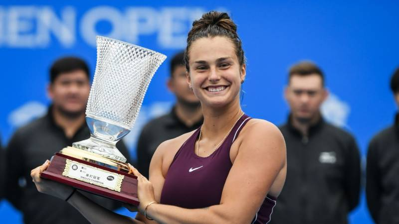 Sabalenka takes third straight title with Abu Dhabi win