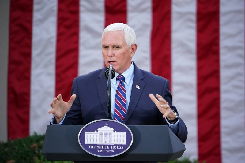 VP Pence rejects invoking 25th Amendment to oust Trump
