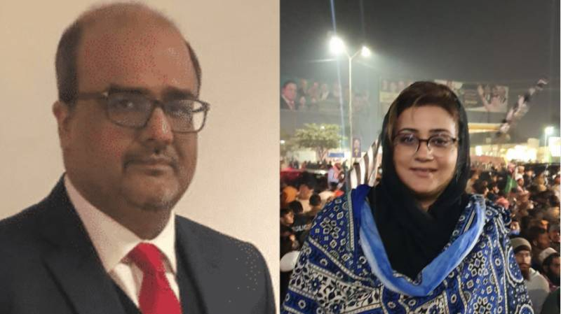 After Marriyum, Shahzad Akbar sends Rs500m legal notice to Azma Bokhari too