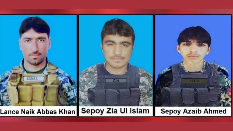 Three soldiers martyred during North Waziristan operations
