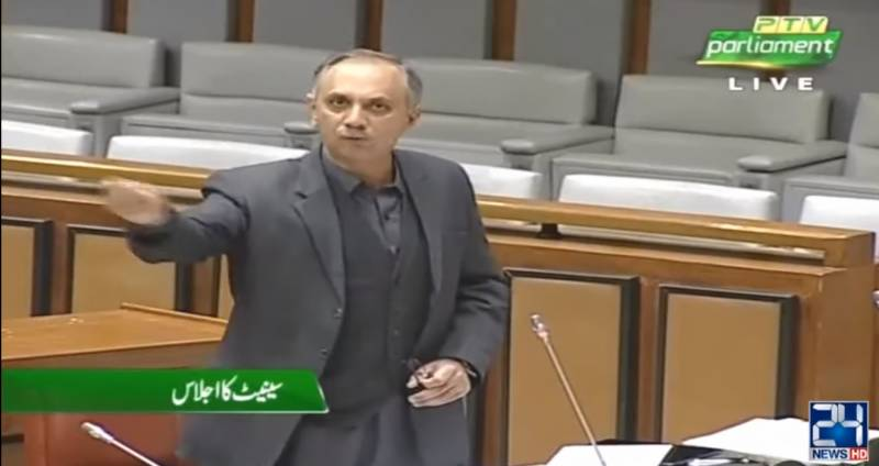 No inflation in country, claims minister as Senate session sees heated exchanges