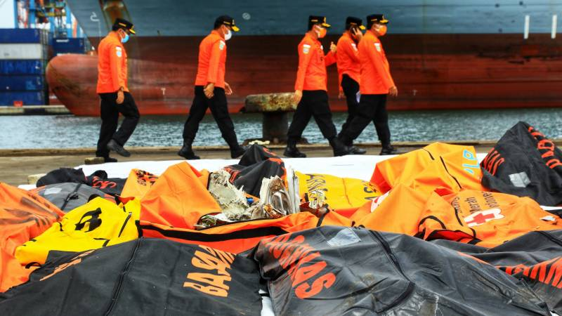 Data recovered from crashed Indonesia jet's flight recorder