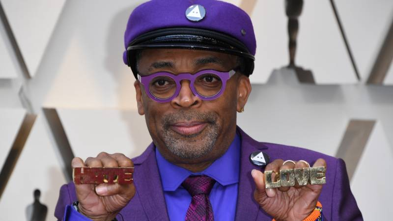 Spike Lee vows to 'delay Father Time' as Hollywood bestows honour