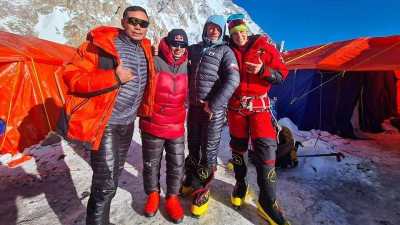 Nepalese team claim first winter ascent of Pakistan's K2