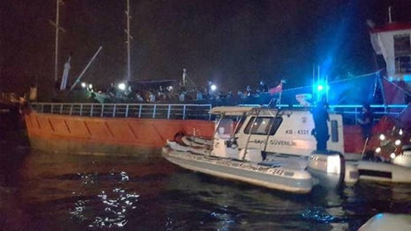 Death toll up to three after ship sinks off Turkey