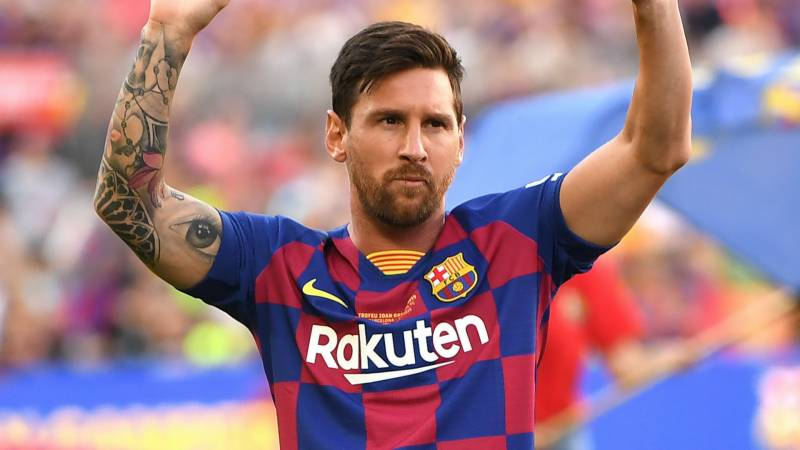 Messi starts Super Cup final for Barca