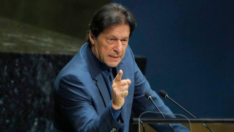 PM Khan committed to expose Indian fascism on all forums
