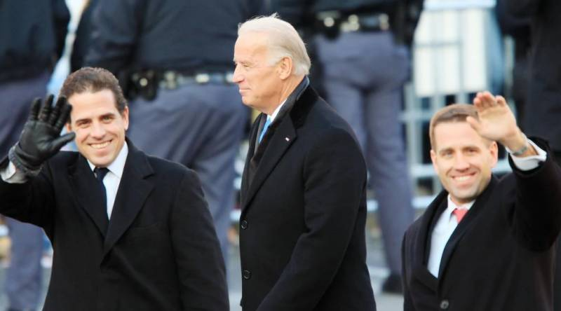 Favorite group of Biden's late son reunites for inauguration