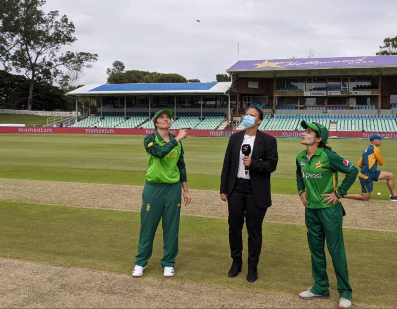 Pakistan women cricket team elects to bowl first against South Africa