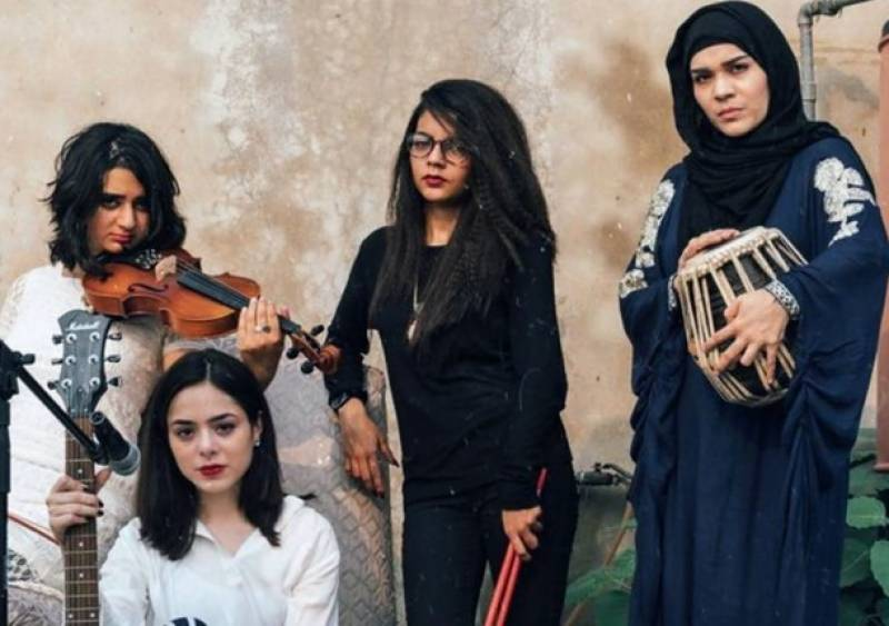 The All Girl band's song 'Mera Nahi Hai' creates waves on internet