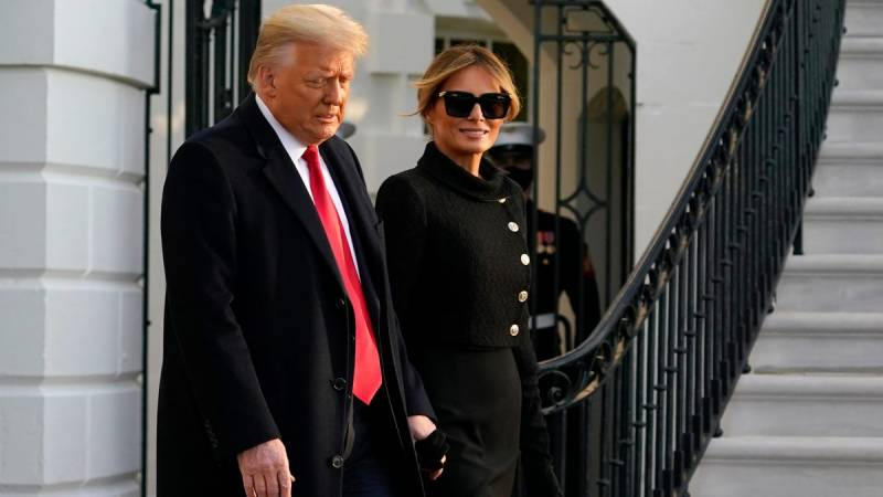 Trump leaves White House, skipping Biden inauguration