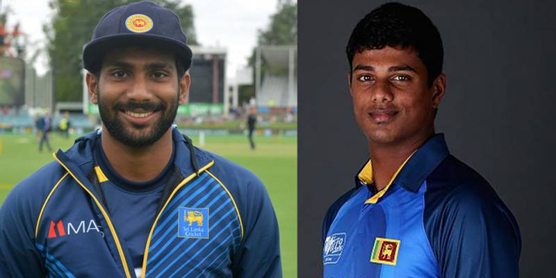 Two Sri Lankan players tested positive for Covid-19