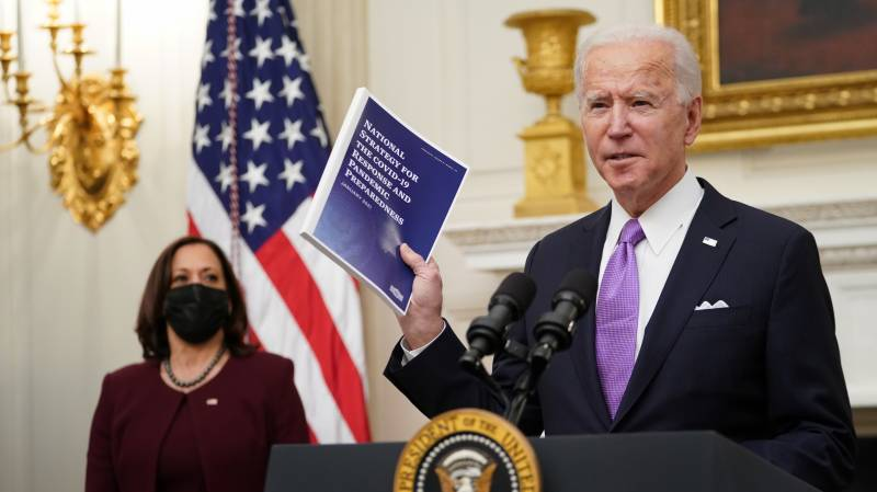 Biden pledges Covid aid for US as poor countries win cheaper tests
