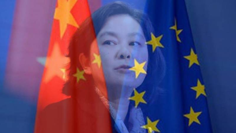 China blasts 'gross interference' by EU lawmakers on Hong Kong