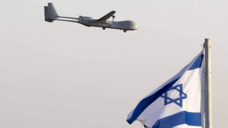 Israeli army says downed drone from Lebanon
