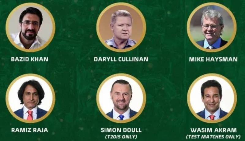 Top commentators lined up for Pakistan-South Africa cricket series