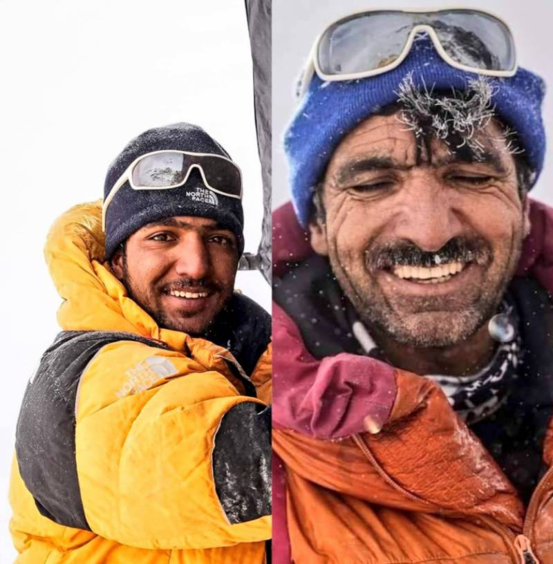 Pakistani father-son duo set to make history on K2 without oxygen