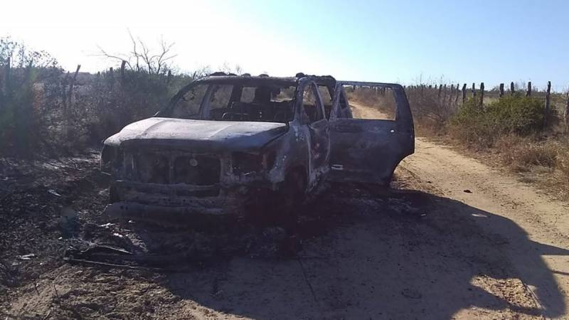 Nineteen charred bodies found near Mexico-US border