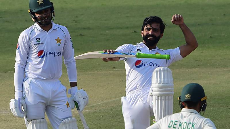 Ton-up Fawad gives Pakistan control in first Test against South Africa