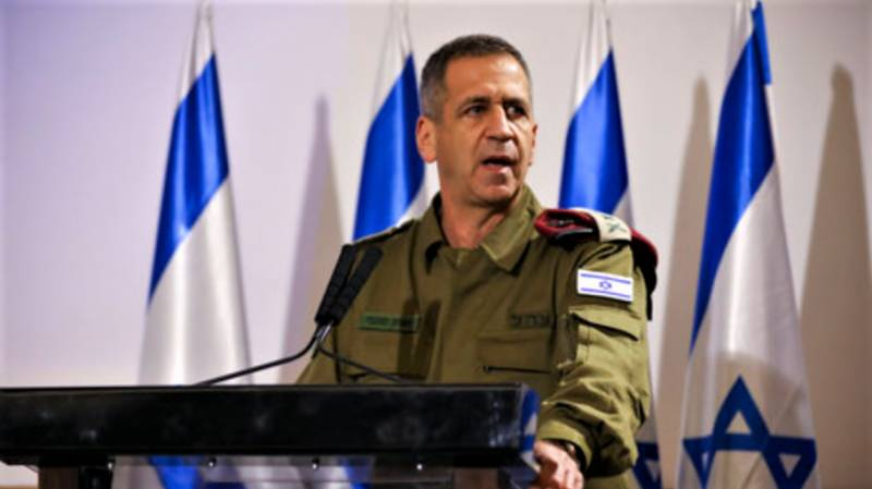 Israel army chief orders plans to counter Iran