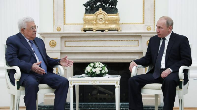Russia suggests Mideast peace conference, US pledges to renew Palestinian ties