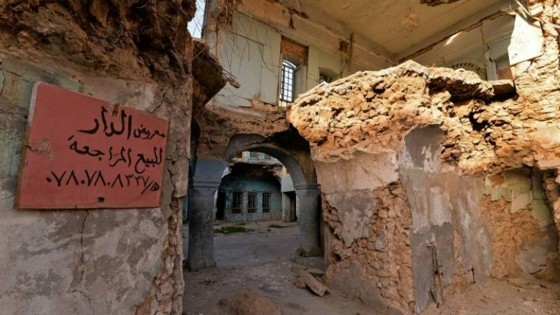 Mosul's ruined Old City up for sale, but few buyers