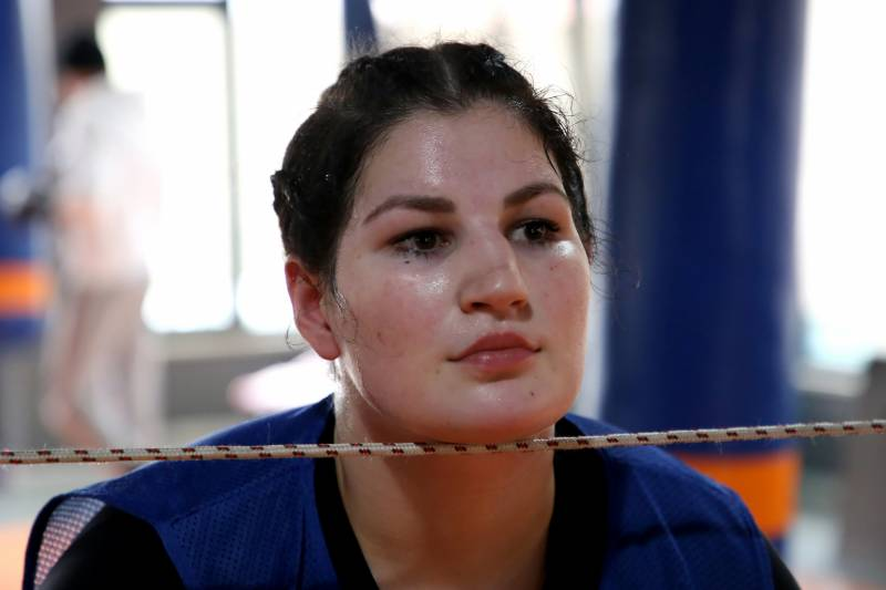 First female boxer punches past the patriarchy in Albania