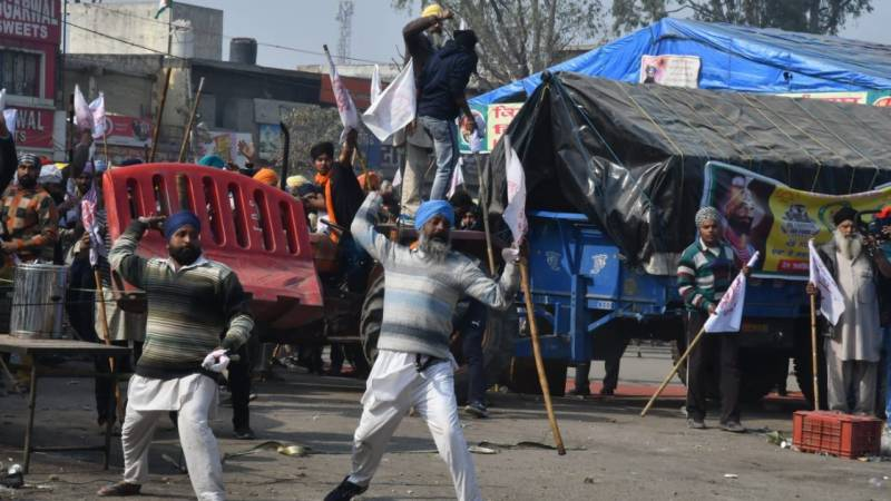 New clashes heighten tensions at India farmer protests