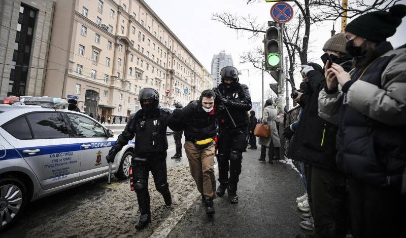 Over 5,300 people detained in Russia protests: monitor