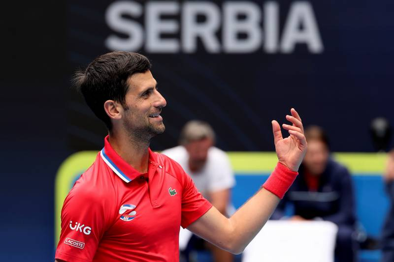 Djokovic says future of men's tennis in good hands