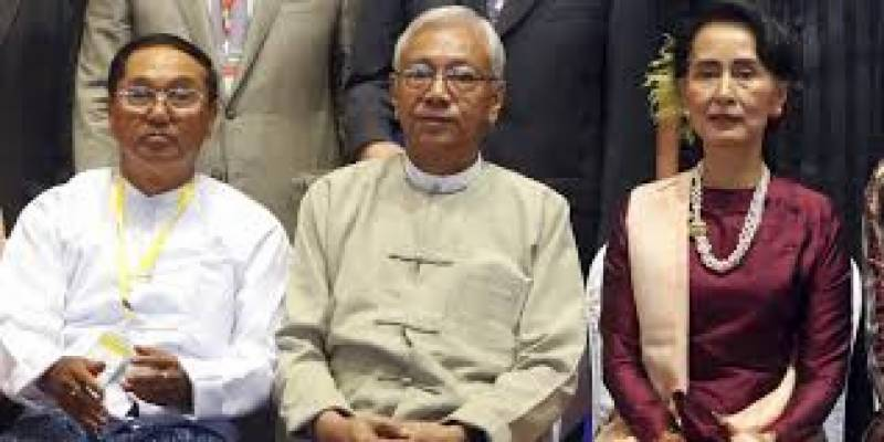 Ousted Myanmar party calls for release of Suu Kyi, other leaders