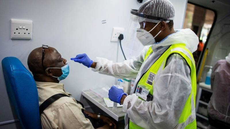 S. Africa passes second wave peak as first vaccines land