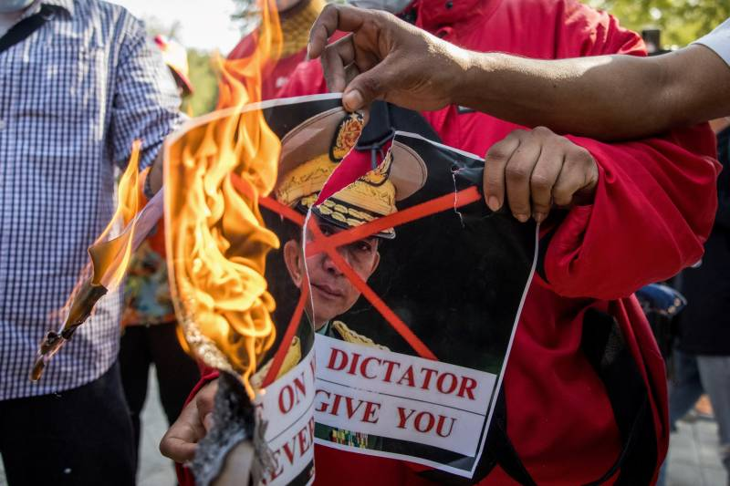 Civil disobedience calls sprout in Myanmar after coup
