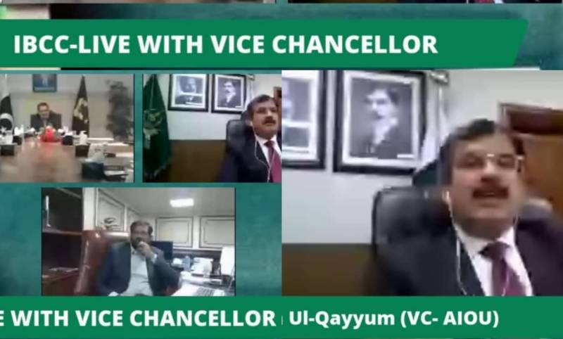 IBCC Live with Vice Chancellor holds session for counselling of Intermediate Students