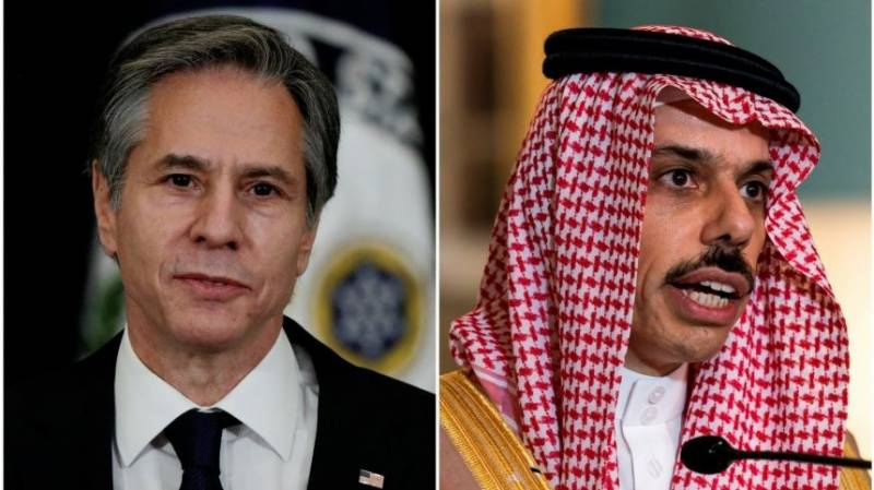 Blinken in first phone call with Saudi counterpart