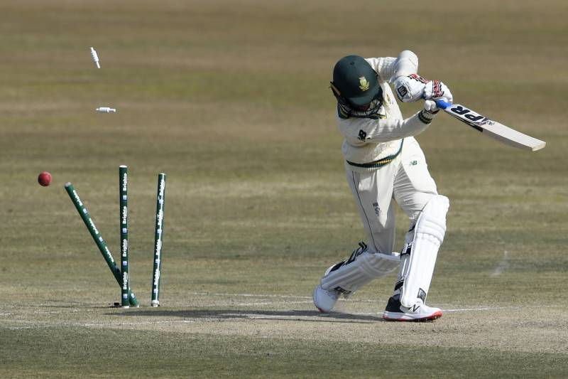 Pakistan lose openers after Hasan gives them lead in second Test
