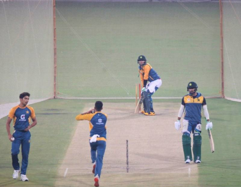 Pakistan, South Africa T20 players start practice at Qaddafi Stadium