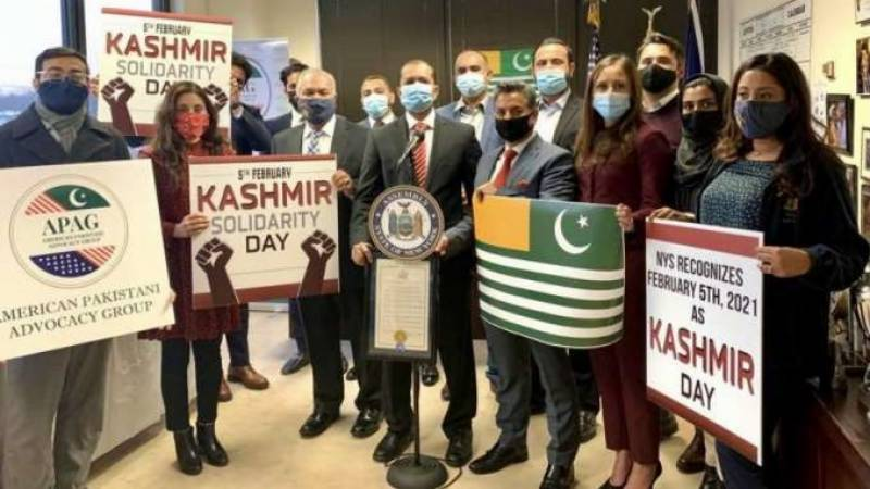 New York State Assembly recognises Kashmir Solidarity Day