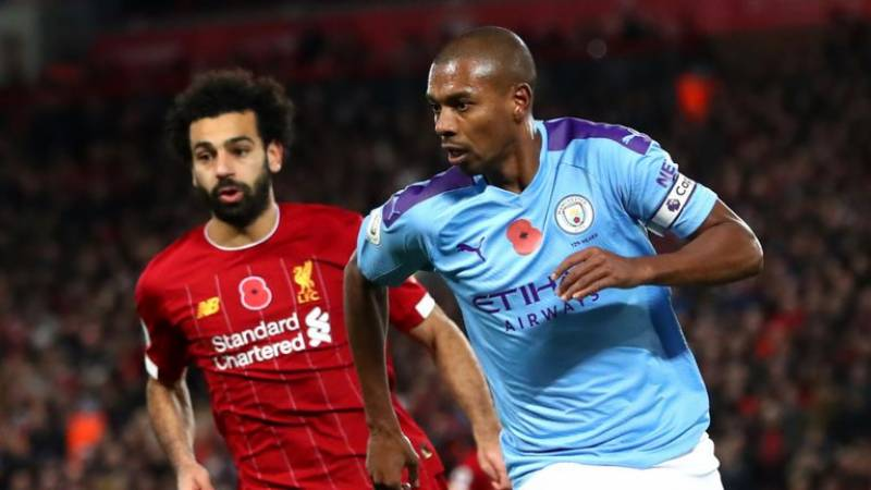 Manchester City thrash Liverpool to close in on Premier League title
