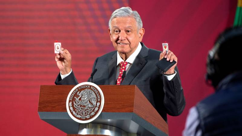 Mexican president says he's beaten Covid