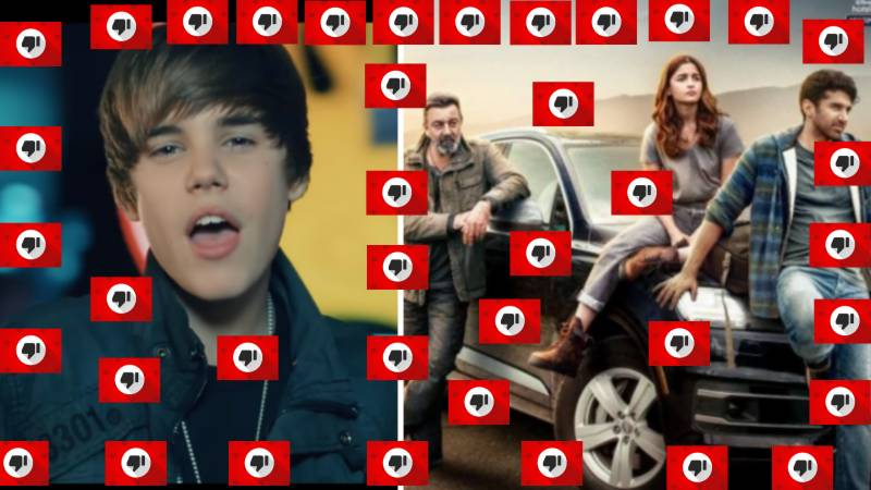 Bieber song and Bollywood movie: Top 10 disliked videos on YouTube