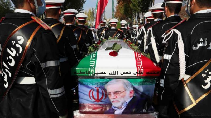 Iran says armed forces member involved in nuclear scientist's murder
