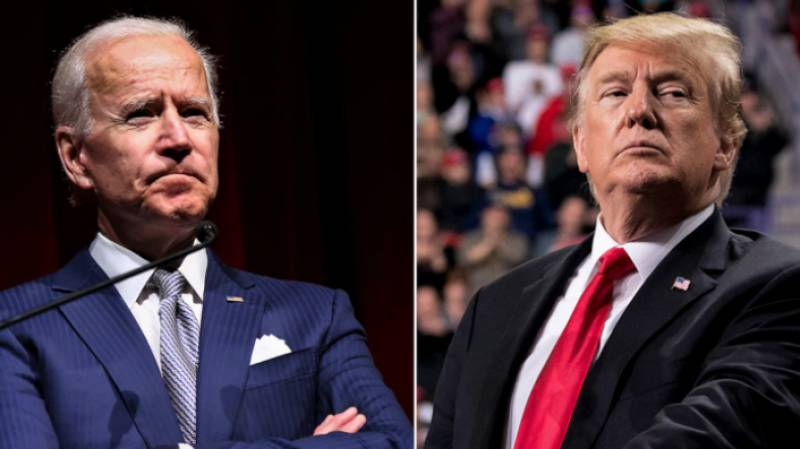 As impeachment trial opens, Trump and Biden keep quiet