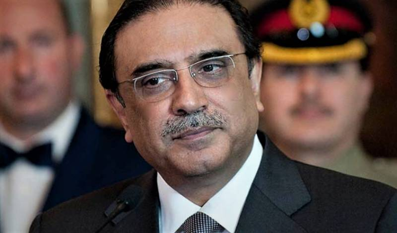 Zardari feels for protesting government employees