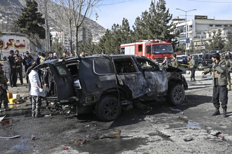 Police chief among two dead as multiple bombs rock Kabul